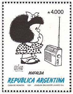 """Mafalda"", contenta: ""Quino"", Premio Príncipe de Asturias 2014."