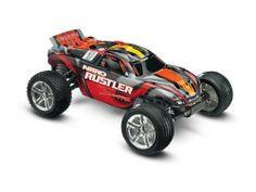 Traxxas 4409 1/10 Nitro Rustler 2WD Stadium Truck 27MHz by Traxxas. Save 44 Off!. $330.22. From the Manufacturer                The Nitro Rustler is the first name in high performance 2WD nitro stadium trucks. Powered by the proven performance of the TRX 2.5 Racing Engine, Nitro Rustler totally out-muscles the competition with top speeds beyond 50 MpH. The TRX 2.5 also pumps out the torque for brutal, wheel-standing launches and absolutely ruthless acceleration. The all-new body design…