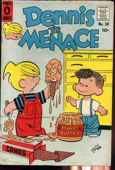 Dennis the Menace Standard/Pines/Haliden/Fawcett) comic books Vintage Cartoons, Vintage Comic Books, Old Cartoons, Classic Cartoons, Vintage Comics, Archie Comics, Old Comics, Desenhos Hanna Barbera, Dennis The Menace