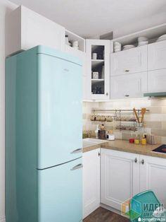 Дизайн кухни, светлая кухня фото, мебель для кухни