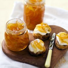 What better way to start the day than with homemade sweet marmalade on buttered toast? For more easy recipes like this, visit P&G everyday today! Breakfast Dishes, Best Breakfast, Breakfast Recipes, Breakfast Ideas, Tasty, Yummy Food, Diy Food, Food Ideas, Finger Foods