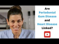 In this video, I look at the possibility of a link between periodontal gum disease and heart disease. You'll learn about the experts' differing opinions on t. Link Youtube, Dental Hygiene, Bad Breath, Heart Disease, Genetics, Simple Way, Cardio, Conditioner, Facts