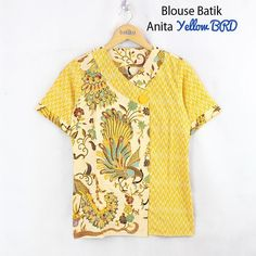 Blouse Batik, Batik Dress, Blouse Styles, Blouse Designs, Batik Kebaya, Dress Anak, Batik Fashion, Gambrel, Pakistani Dress Design