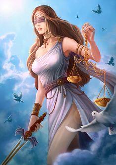 ArtStation - Goddess Themis, Zz Thor
