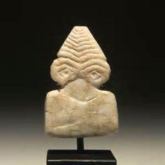 Assyria. Chalcedony Head of the god Pazuzu, ca 8th-7th c ...
