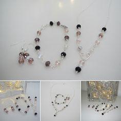 Heidin korutaiteilut: Kaunista äidille Diy Jewelry, Pearl Necklace, Pearls, String Of Pearls, Beads, Pearl Necklaces, Diy Jewelry Making, Gemstones, Pearl