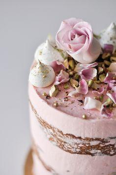 Alesia Rose | Spiced Almond and Pistachio cake | LionHeart