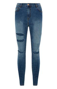 Primark - Denim Ripped Skinny Jean