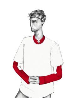 Winq Magazine Fashion Illustration Editorial Pitch by Johnathan Hayden, via Behance