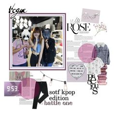 """""""SOTF KPOP EDITION [ BATTLE ONE ]"""" by eenceladus ❤ liked on Polyvore featuring art and SOTFKPOP"""