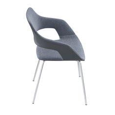 Occo Chair | Four leg chair | Desing by jehs+laub| #Wilkhahn | #OCCO