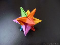 .Origami Star