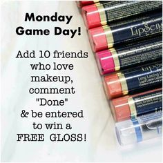 This applies to my FB group for the month of September. Click the Visit button (above) to be taken to by FB group. Lipsense Game, Senegence Makeup, Senegence Products, Lip Sence, Glitter Gloss, Kiss Proof, Facebook Party, Perfect Lips, Kissable Lips