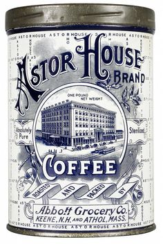 Astor House - like antique tins.