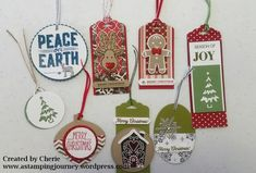 This Friday and Saturday for my last class for the year we made Christmas tags. It was a lot of fun and my class members were very creative. I wanted to share them with you. Firstly, I made up a …