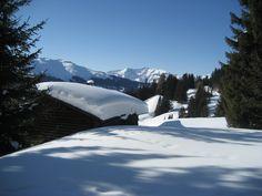 was wäre die Schweiz ohne Schnee... oberhalb von Parpan im Kanton Graubünden