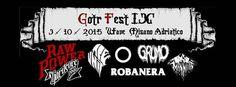 Sabato 3 ottobre 2015 per tutti gli appassionati di music alternativa, al Wave Misano arriva la nona edizione del Gotr Fest.