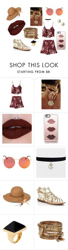 """""""loving summer"""" by shassydee on Polyvore featuring Casetify, Steve Madden, Marc Fisher, Kenneth Jay Lane, ALDO and Carolee"""