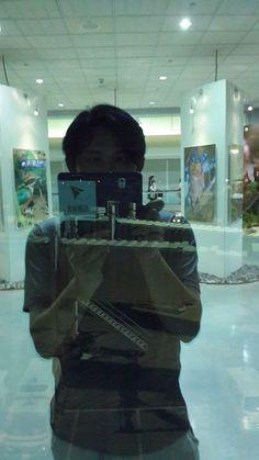 國昌也懂selfie.