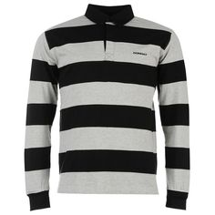 Donnay | Donnay Panel Men's Rugby Shirt | Men's Polos - Rugby