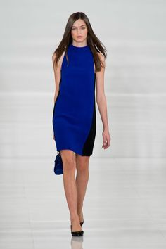 Pin for Later: The Ultimate Guide to Spring & Summer's Big Fashion Colour Trends Call Me Cobalt Ralph Lauren Spring 2014
