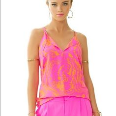 Sea-Esta Tassel Tank Worn once then immediately dry cleaned Lilly Pulitzer Tops