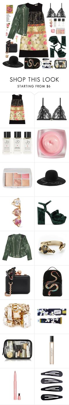 """""""Just Love..."""" by sue-mes ❤ liked on Polyvore featuring Etro, Alexander McQueen, Jo Loves, Givenchy, Hourglass Cosmetics, Eugenia Kim, WWAKE, Yves Saint Laurent, Balmain and Patrizia Pepe"""