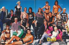 Dolce and Gabbana The Face, September 2001 Contributor - Superimpose Studio