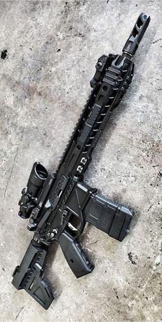 Military Weapons, Weapons Guns, Guns And Ammo, Custom Ar, Custom Guns, Armas Airsoft, Armas Wallpaper, Ar15, Shooting Guns