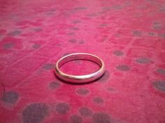 Sterling Silver Wedding Band Ring 925 Ladies by MyYiayiaHadThat, $10.00