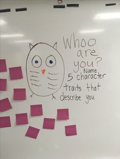 Classroom Whiteboard Messages Who are you Wednesday. Classroom Whiteboard, Interactive Whiteboard, Esl, Leadership, Morning Activities, Daily Writing Prompts, Responsive Classroom, Classroom Community, Thinking Day