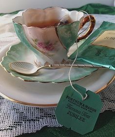 Taking Tea:  A story of the famous tea at London's Fortnum & Mason  | The Culinary Cellar