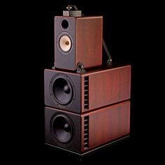 "Duke Speaker from Trenner & Friedl with 2x12"" woofer, 1x8"" papyrus mid featuring wood cone, 1x1.75"" horn loaded titanium tweeter, 1x0.8"" diamond super tweeter featuring a Swarovski crystal disperser."