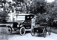 Ford Modelo t primer coche alquilado en 1916