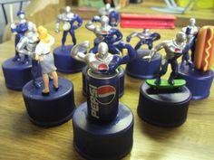 You definitely need to check out this blog post o the amazing, hilarious world of Pepsiman!