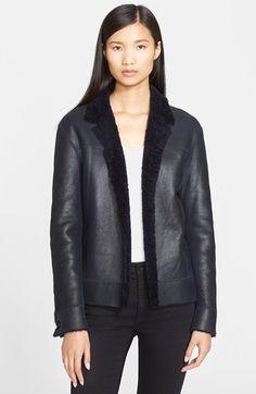 Helmut Lang Genuine Shearling Jacket available at #Nordstrom