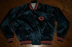 Vintage Chicago Bears Chalkline snap football Jacket Men's XL X-Large Chalk Line #chalkline #ChicagoBears