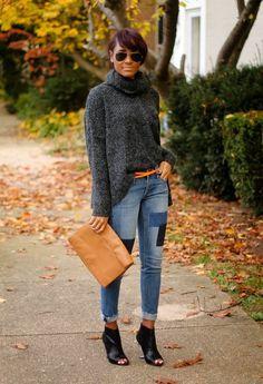 pink orange clutcheslook main Jeans Never Die: 20 Ways How To Wear Jeans