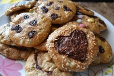 Zdravé cookies — Břicháč Tom Muffin, Sweets, Cookies, Breakfast, Desserts, Food, Crack Crackers, Morning Coffee, Tailgate Desserts