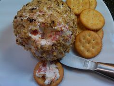 Michele's Woman Cave: Pepperoni Cheese Ball