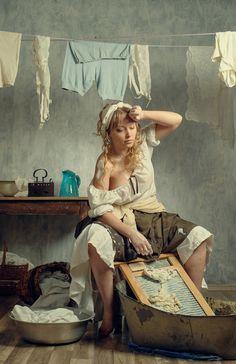 Прачка. Photographer Anton Kiyasov Artistic Photography, Art Photography, Human Art, Woman Drawing, Portrait Art, Beautiful Paintings, Figure Painting, Erotic Art, Female Art