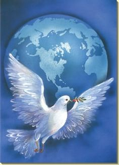 Holy Spirit fill our world with peace.