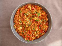 Réalisez à la perfection un émincé de poulet à la mexicaine, idéal pour garnir vos tortillas ! Emincés de Poulet à la Mexicaine Pour 8 personnes Temps de