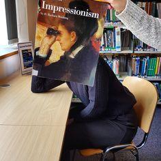 Impressionism #bookfacefriday #southdevoncollege