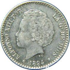 50 céntimos (1894)(*18-94) Madrid PG V - MBC