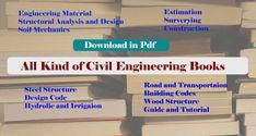10 Best Civil Engineering Books images in 2019 | Civil