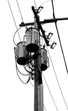 Electric Pole by Sweet Tee Lee, via Flickr