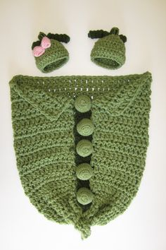 Free Shipping in U.S. Two Peas In A Pod for Newborn Twins Made To Be Versatile and used as a Blanket afterwards