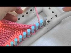 martha stewart loom knitting projects | ... loom knitting with the Martha Stewart Crafts Lion Brand Yarn Knit