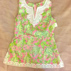 Lilly Pulitzer Top Lilly Pulitzer Top. Perfect condition, NWT! Never worn, great for summer! Lilly Pulitzer Tops Tees - Short Sleeve